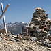 Älplihorb 3006 m in der Mitte. Vom Hüreli über Davos Wiesen