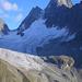 Das imposante Verstanclahorn über dem gleichnamigen Gletscher