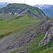 Ausblick zum nächsten und letzten Gipfelziel des Tages.