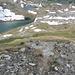 I due laghi di Valfredda dal bivio a quota 2730.