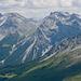 Tiefblick in die Aroser-Alpen...