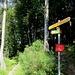 Sentiero interdetto verso Bogno e la Val Lavazee