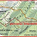 Sentiero interdetto da Bogno verso l'Alpe Cottino