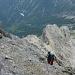 Oben erreicht man den Rinesch-Steig und über diesen den Gipfel