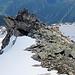Der Ostgrat des Täschehorns, ebenfalls bestückt mit traumhaften Felsbrocken zum drüberspringen :-D