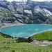 der See in schönem Blau