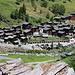 Zurück im malerischen Dorf Binn (1400m).