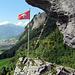 Seitenblicke am Indianer Klettersteig.