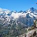 Blick zu weiteren, bereits bestiegenen, tollen Gipfeln.
