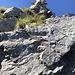 Der Ausstieg beim Steinmannli