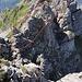 Diese Felsformation habe ich über die Südost Flanke umgangen, fotografiert vom Sirtenstock aus!