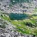 Am Aufstieg zum Passo Fornale - Lago del Piatto