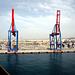 îm Hafen von Malaga