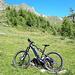 <b>Veduta sull'Alpe di San Martino, in direzione del Passo Bareta.</b>