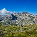 2. Gipfelerfolg: Kulla e Zyberit - mit Blick nach Südwesten