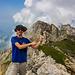 4. Gipfelerfolg - mit den Korab I im Hintergdrund