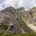 Nordwestgrat des Korabmassivs - Ab hier geht es nur mit Kletterei & Ausrüstung weiter