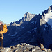 TeamMoomin vor toller Bergkulisse.