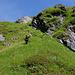 Im Abstieg zum Brunnibach folgten wir einem durchgehenden Pfädli.