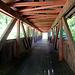 und sogar noch eine Holzbrücke