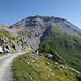 Mont Bonvin 2994m von der Cabane des Violettes