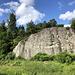 Unterwegs in den Paradisbakkerne - Blick auf eine kleine Felswand im Majdal.