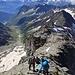 Abstieg erneut über den Südgrat