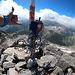 <b>Ma il fine giustifica i mezzi; alle 11.20 raggiungo la vetta: Piz Rondadura (3016 m) geschafft! </b>