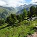 Nah am Punkt 2230m mit Sicht ins Val da Ravais-ch.