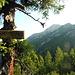 """Am """"Goassprung"""" gibts erstmals den Blick zum Gipfel."""