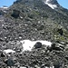 Abstieg von Tällispitze (Bild) über Schutthang in Simmiglicke
