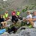 Lago Leit / Laghetto di Campolungo : da SX ... Alberta, Giorgio ... la torta ... Irene, Roberto, Claudio, Leo e Marina