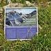 Am Panorama Weg gibt es auch Infotafel zum Gebirge.