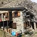 beim Rifugio Aosta angelangt - inzwischen wieder bei schönstem Sonnenschein