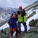 Andrea und ich ([u mali]) am Umkehrpunkt auf 2.940 m. Es war wirklich saukalt.