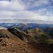 Berge, Berge, Berge vom Piz Cotschen - Blick auf einen Teil der Grat-Runde
