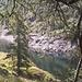 Lago Sardegnana<br />Qui faremo la nostra prima pausa...