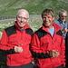 Die super-tollen Bergführer!<br />Links Gois und Rechts Gerold