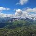 Ausblick nach Süden in den Verwall und das Lechquellengebirge