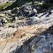 Interessanten Aufstieg bei Chalti Wasser