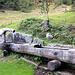 Stalenkapelle. La fontaine sculptée par Roger Biderbost en 2003.<br /><br />(attested by Mong)