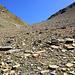 Le vallon de Holöüwi qu'il va falloir remonter.<br /><br />Heureusement, le pierrier n'est pas trop pénible.