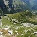 La cresta seguita per scendere in direzionee del Motarüch