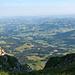 Aufstieg zum Furggegütsch - Blick ins Mittelland