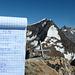 Gipfelpoesie, rechts Weissmies und Lagginhorn