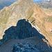 Der Weiterweg vom Fergenhorn auf 2860m