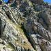 Blick zurück zum Gross Schild auf 2862m
