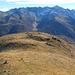 Unterwegs zum Unnere Stock, der höchste am Horizont ist das Blinnenhorn