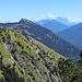 Panorama in Richtung Zugspitze, in der Mitte die Gaichtspitze