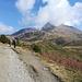 La strada che porta al Rifugio Fallere
